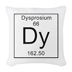 66. Dysprosium Woven Throw Pillow