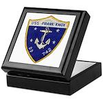 USS FRANK KNOX Keepsake Box