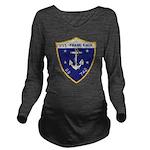 USS FRANK KNOX Long Sleeve Maternity T-Shirt