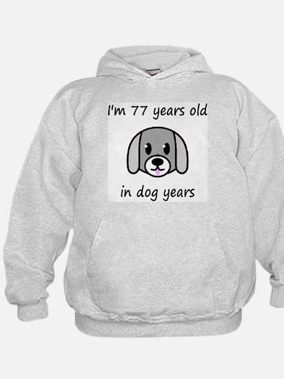 11 dog years 2 Hoodie