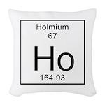 67. Holmium Woven Throw Pillow