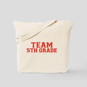 Team 5th Grade Tote Bag