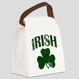 Irish Shamrock (Green) Canvas Lunch Bag