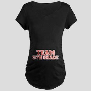 Team 5th Grade Maternity Dark T-Shirt
