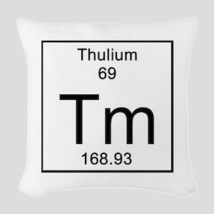 69. Thulium Woven Throw Pillow