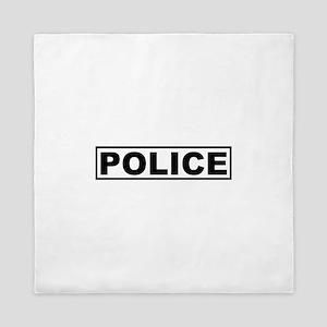 Police Queen Duvet