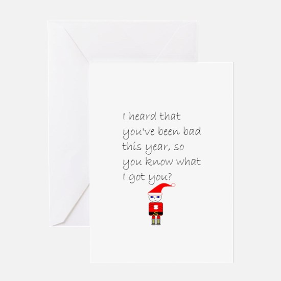 Cool Funny christmas Greeting Card