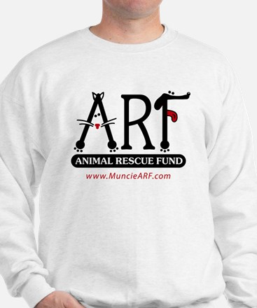 Funny Dog and cat non profit rescue group Sweatshirt