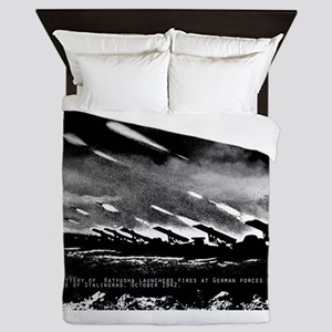 Soviet Union World War II Katyusha mul Queen Duvet