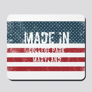 Made in College Park, Maryland Mousepad