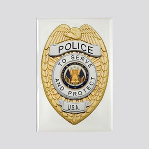 Police Badge Magnets