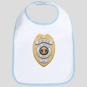 Police Badge Baby Bib