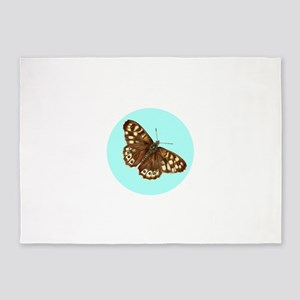 Speckled Wood Brown Butterfly Watercolour / waterc