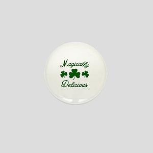 Magically Delicious Shamrock Mini Button