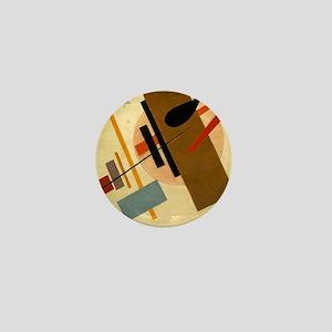Kazemir Malevich Soviet Russian Artist Mini Button