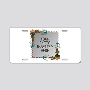 Growing Spaces Aluminum License Plate
