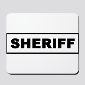 Sheriff Mousepad