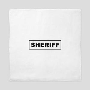 Sheriff Queen Duvet