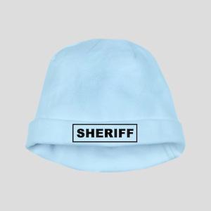 Sheriff baby hat
