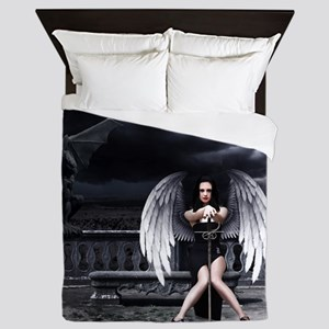 Fallen Angel Queen Duvet