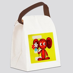 Cheburashka Soviet Animation Soyu Canvas Lunch Bag