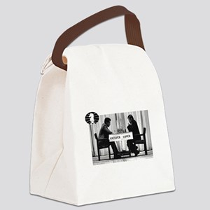 World Chess Champions Karpov Kasp Canvas Lunch Bag