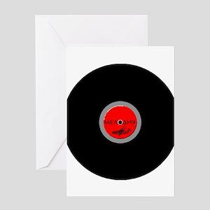 Melodiya Soviet Union Record Label Greeting Cards
