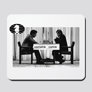 World Chess Champions Karpov Kasparov Ma Mousepad