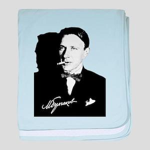 Mikhail Bulgakov The Master Russian W baby blanket