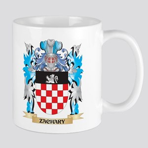 Zachary Coat of Arms - Family Crest Mugs