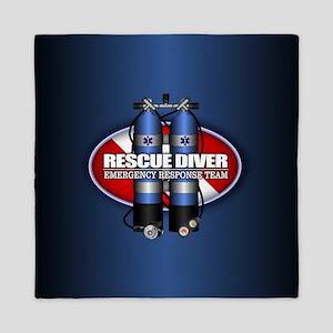 Rescue Diver Queen Duvet