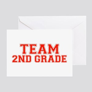 Team 2nd Grade Greeting Card