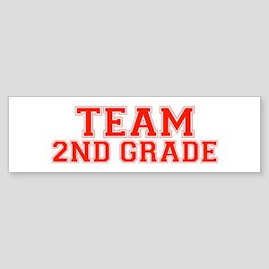 Team 2nd Grade Bumper Sticker