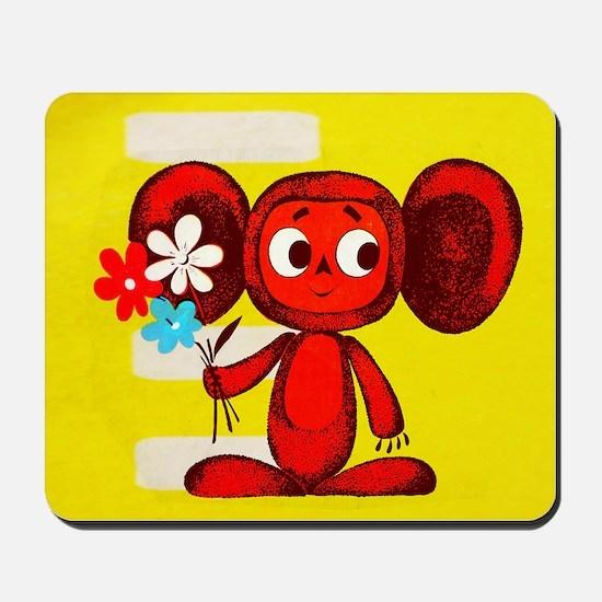 Cheburashka Soviet Animation Soyuzmultfi Mousepad