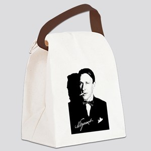 Mikhail Bulgakov The Master Russi Canvas Lunch Bag
