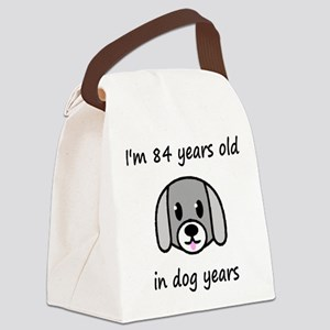 12 dog years 2 Canvas Lunch Bag