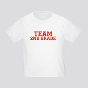 Team 2nd Grade Toddler T-Shirt