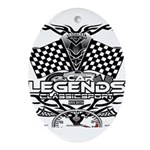 muscle car legends 2018 Oval Ornament