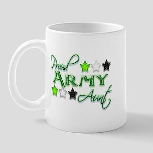 Army Star Aunt Mug
