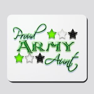Army Star Aunt Mousepad