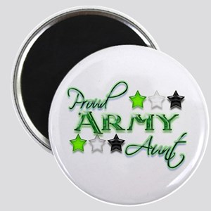 Army Star Aunt Magnet