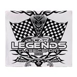 muscle car legends 2018 Throw Blanket