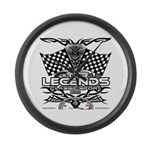 muscle car legends 2018 Large Wall Clock