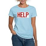 Help (red) Women's Light T-Shirt