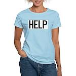 Help (black) Women's Light T-Shirt
