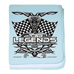 muscle car legends 2018 baby blanket