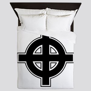 Britan Ireland Celtic Christian Cross Queen Duvet