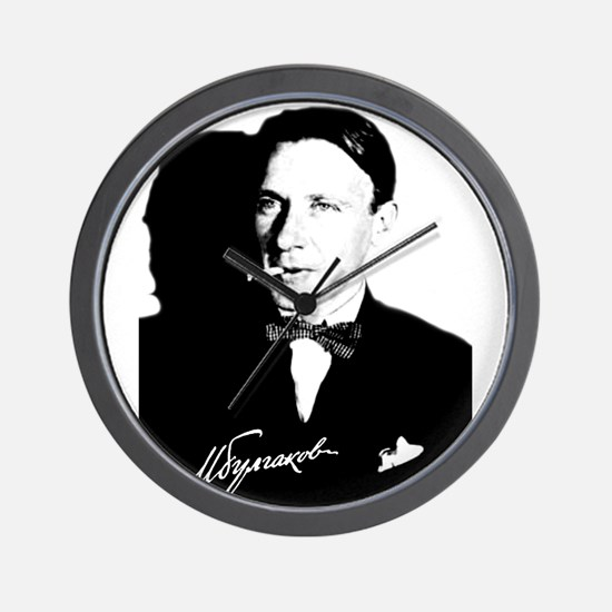 Mikhail Bulgakov The Master Russian Wri Wall Clock