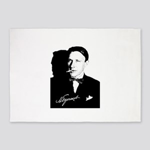Mikhail Bulgakov The Master Russian 5'x7'Area Rug