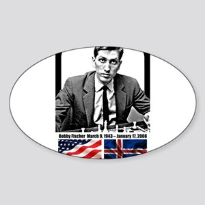 Robert Bobby Fischer American Chess grandm Sticker